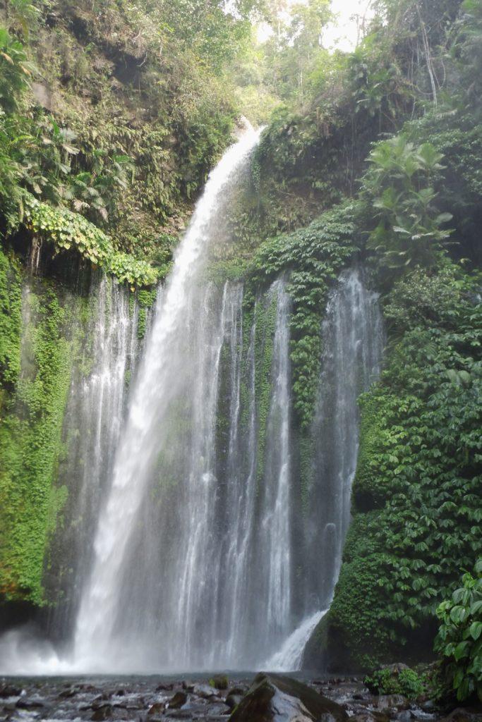 Tiu Kelep Waterfall, Senaru- North Lombok